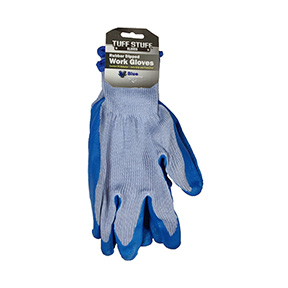 ATLAS BLUE WORK GLOVE-LGE SIZE