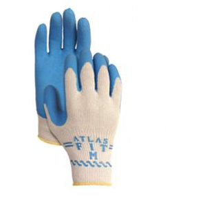 ATLAS BLUE WORK GLOVE-MED SIZE
