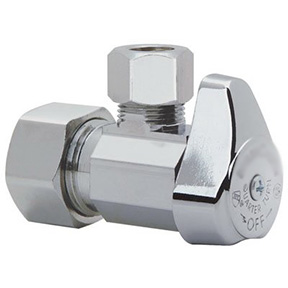 5/8 COMPRESSION X 3/8C ANGLE 1/4 TURN WATER SUPPLY VALVE
