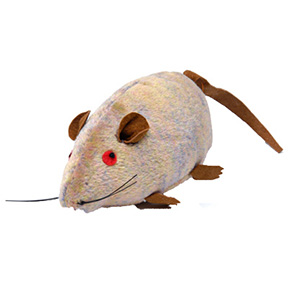 SQUEAKY MOUSE CAT TOY