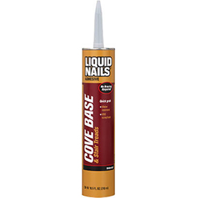 10.5 OZ. LIQUID NAILS COVE BASE ADHESIVE