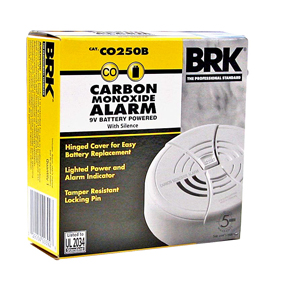 9V BATTERY CARBON MONOXIDE DETECTOR