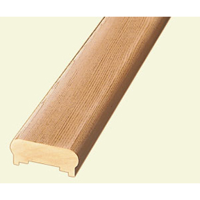 8' CEDAR DUAL SLOT TRADITIONAL HANDRAIL