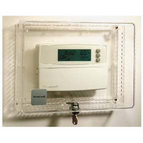 THERMOSTAT COVER W/KEY LOCK
