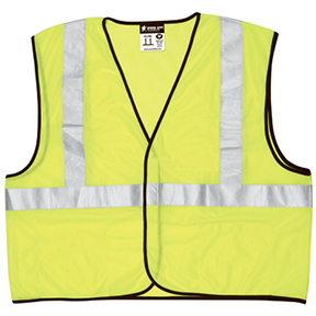 CLASS 2 MESH LIME GREEN SAFETY VEST