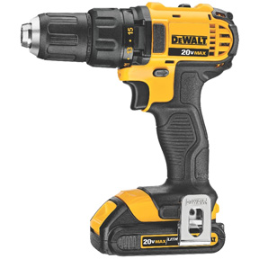 DEWALT 20V LITH-ION COMPACT DRILL/DRIVER