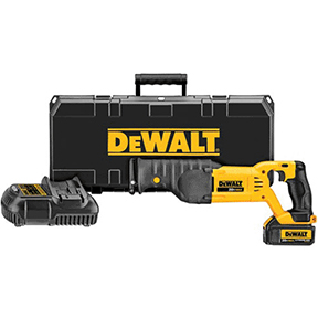 DEWALT 20V MAX LITH ION RECIPRO SAW KIT