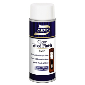 11.5 OZ DEFT SATIN CLEAR OIL BASED WOOD FINISH LACQUER
