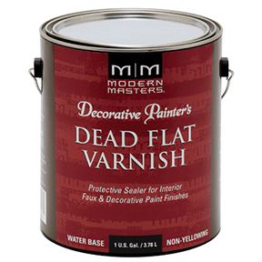 M&M GAL DECORATIVE PAINTER'S DEAD FLAT VARNISH