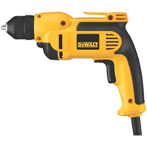 "DEWALT 3/8"" VSR DRILL WITH METAL KEYLESS CHUCK"