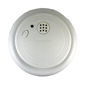 120V AC ELECTRIC SMOKE ALARM W/BATTERY BACKUP