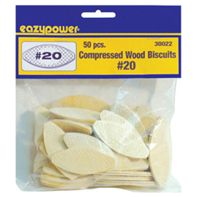 #20 COMPRESSED WOOD BISCUITS 50 PACK