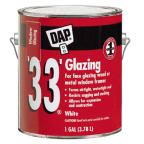 "GAL DAP ""33"" GLAZING PUTTY"