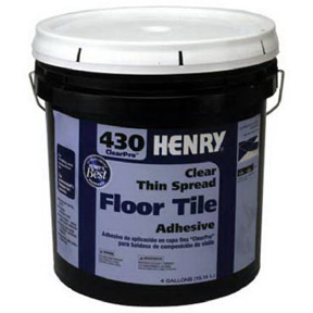 4 GAL CLEAR TILE ADHESIVE