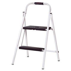 2 STEP, STEP STOOL, WITH SOFT GRIP, TYPE III, 200 LB