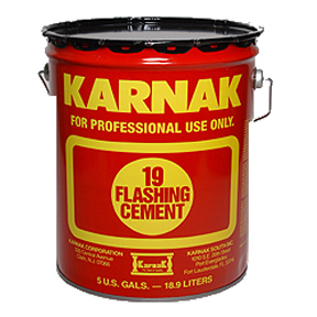 5 GAL KARNAK 19 ROOF FLASHING CEMENT