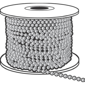 #10 NICKEL PLATED BALL CHAIN