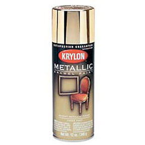 KRYLON BRIGHT SILVER SPRAY PAINT