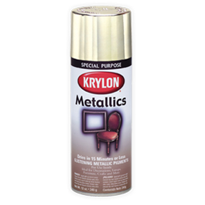 KRYLON BRIGHT GOLD METALLIC SPRAY PAINT