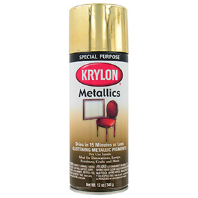 KRYLON METAL BRASS SPRAY PAINT
