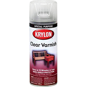 KRYLON 11OZ CLEAR SATIN VARNISH