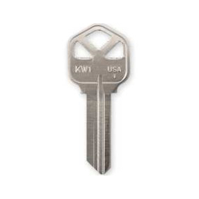 KW1 KEY BLANKS