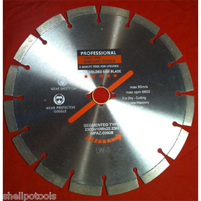 "7"" DIAMOND BLADE SEGMENTED"
