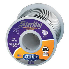 STERLING SPOOL LEAD FREE SOLDER (TIN/COPPER)