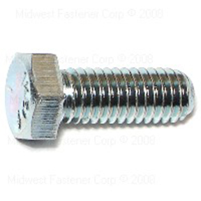 "3/8""-16 X 1"" GRADE 5 COARSE HEX CAP SCREWS - 100 PER BOX"