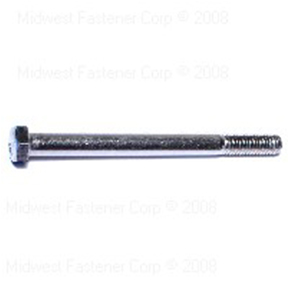 "3/8"" X 4-1/2"" STAINLESS STEEL HEX CAP SCREW - 25 IN BOX"