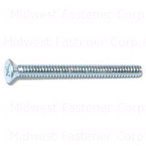 6-32 X 1-1/2 PHILLIPS FLAT MACHINE SCREWS 100 PER BOX