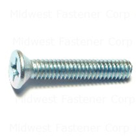 1/4 X 1-1/2 PHILLIPS FLAT MACHINE SCREWS (100 PER BOX)