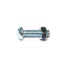 1/4-20 X 1 SLOTTED ROUND HEAD STOVE BOLTS (5 PER PK)