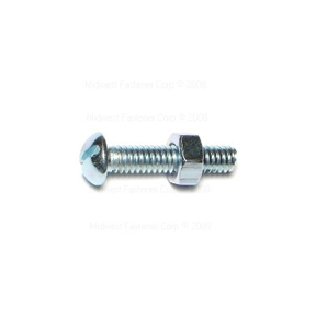 1/4-20 X 1-1/4-20 ROUND HEAD STOVE BOLTS - 8 PER PACK