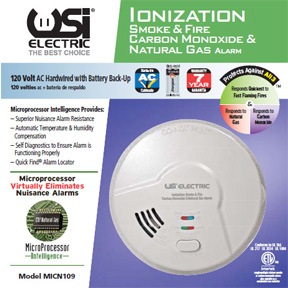 120V COMBO SMOKE,CARBON MONOXIDE, NATURAL GAS DETECTOR