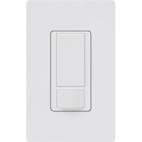 LUTRON OCCUPANCY SENSOR SWITCH WHITE