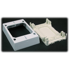 WIREMOLD WHITE EXTRA DEEP SINGLE GANG BOX