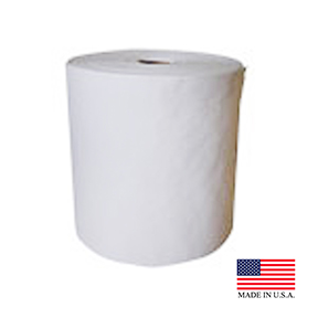 "NITTANY PAPER WHITE 6"" X 600' CENTER PULL TOWEL"