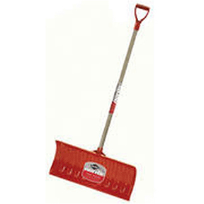 "26"" NORDIC POLY BLADE D-HANDLE SNOW PUSHER"