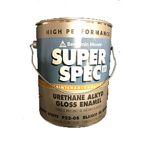 GAL URETHANE SAFTY WHITE GLOSS ALKYD PAINT