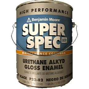 GAL SUPER SPEC HP URETHANE ALKYD GL ENAMEL-SAFETY BLACK