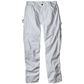 "PAINTER'S  PANTS 36"" X 34"" WHITE COLOR"
