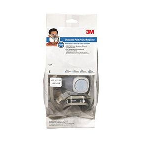 3M PAINT SPRAYER & PESTICIDE RESPIRATOR - LARGE