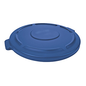 LID FOR 32 GAL BLUE ROUND RECYCLE CAN (RM2632-06)
