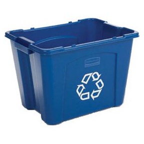 RUBBERMAID RECYCLE BIN-14 GL