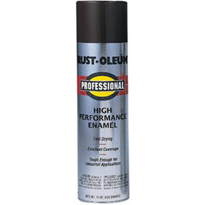 RUSTOLEUM PROF GL BLACK SPRAY PAINT