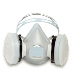 SAFETY DISPOSABLE MED PAINT SPRAY RESPIRATOR