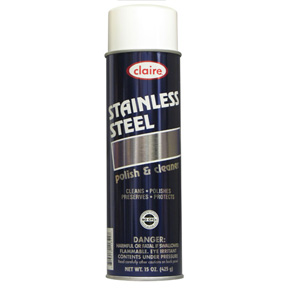 15oz STAINLESS STEEL POLISH & CLEANER