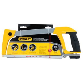 STANLEY RUBBER GRIP HACKSAW
