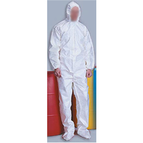 TYVEK COVERALLS/HAT & BOOT-XLG